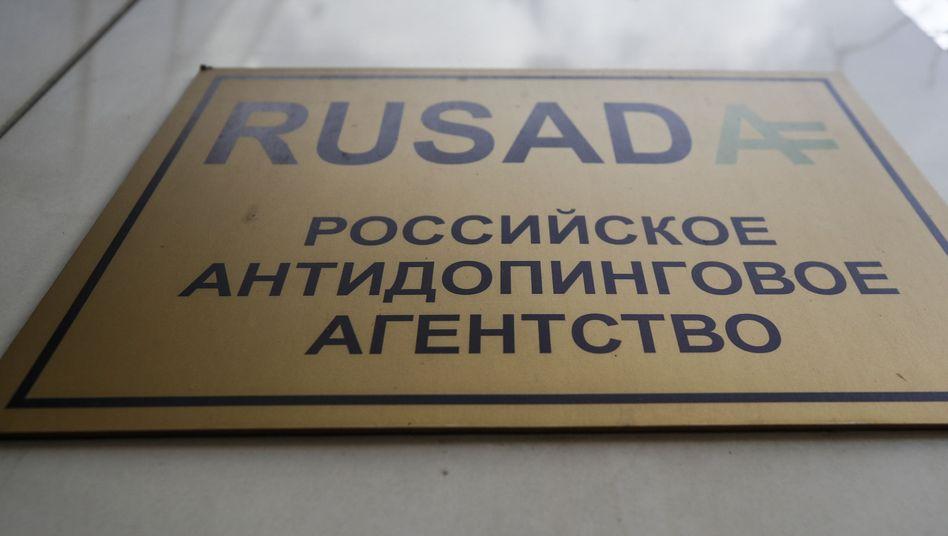 Die russische Anti-Doping-Agentur Rusada