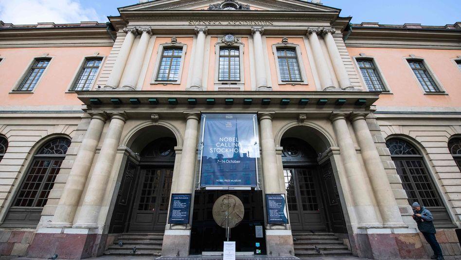Das Alfred Nobel Museum in Stockholm