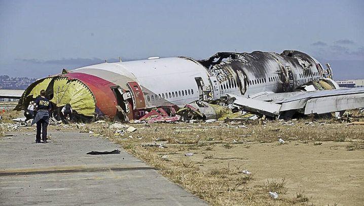 Flugzeugabsturz in San Francisco: Suche nach der Unglücksursache