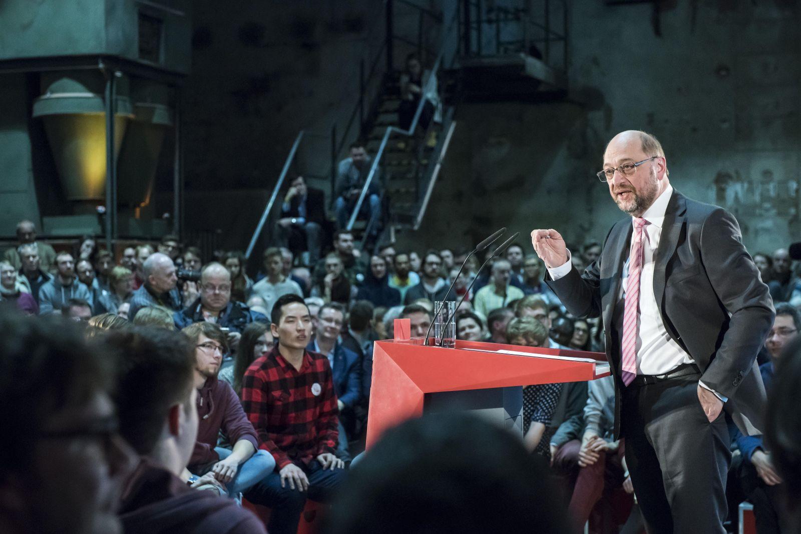Martin Schulz in Leipzig #1
