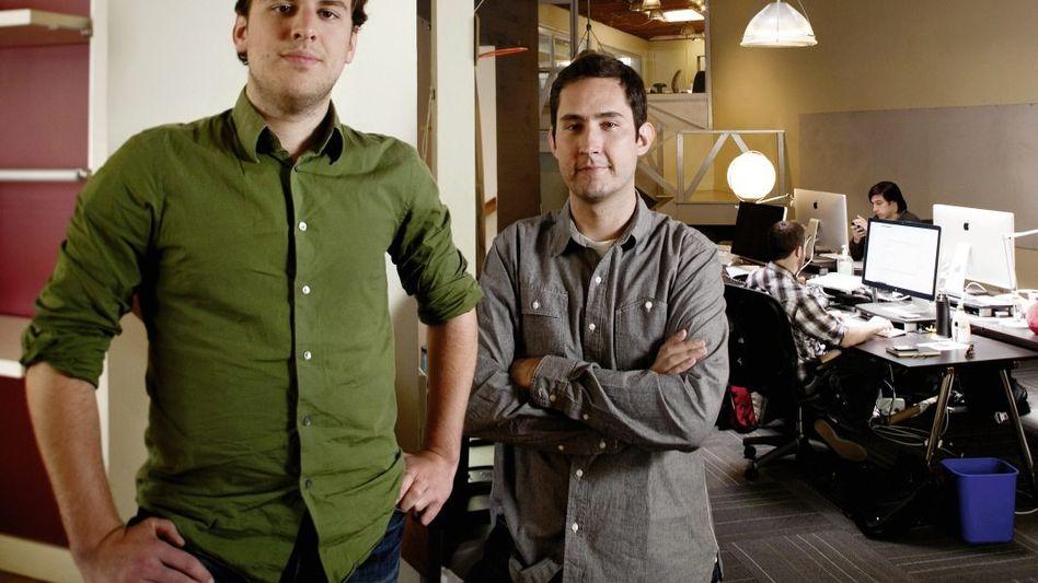 Instagram-Gründer Krieger, Systrom: Eine Milliarde Dollar für ein bisschen Bildbearbeitung