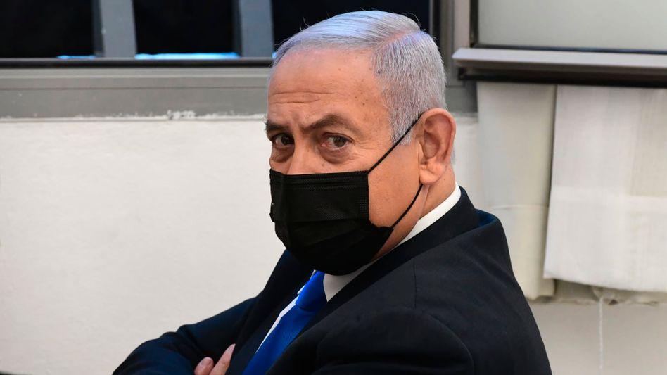 Israels Regierungschef Benjamin Netanyahu vor Gericht