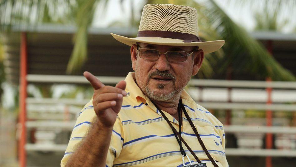 """Bürgerwehr-Chef Hipólito Mora (Archivbild): """"Wir glauben nicht, dass er damit etwas zu tun hat"""""""