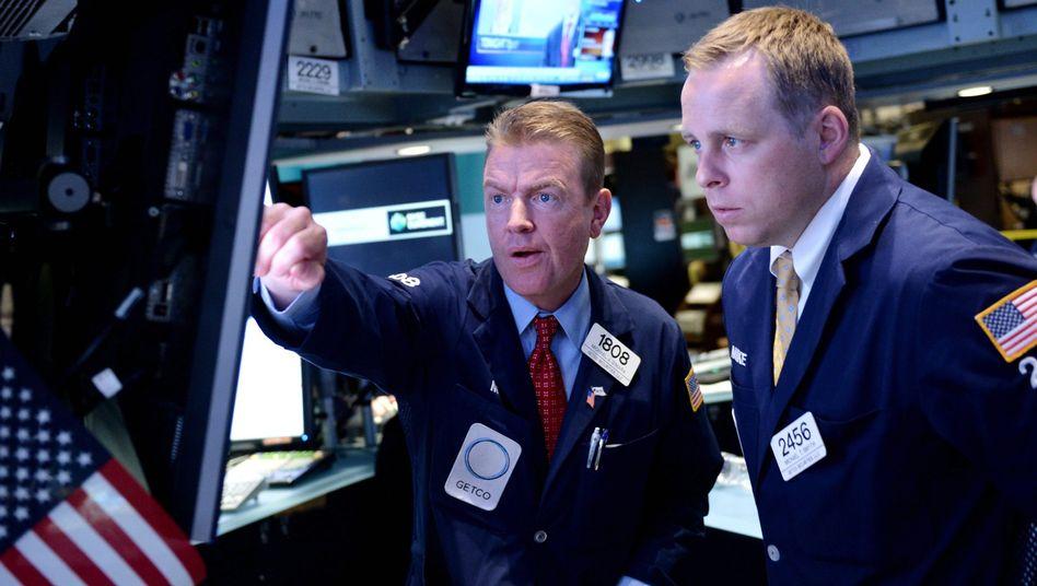 """Händler an der New Yorker Börse: """"Es war bizarr"""""""