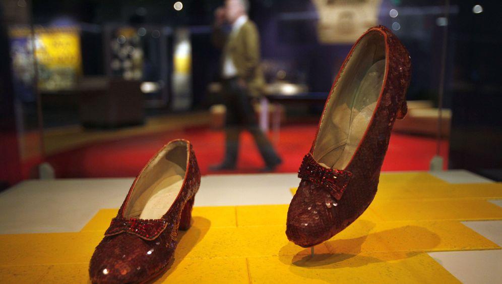 """""""Zauberer von Oz""""-Requisiten: Teure Schuhe"""