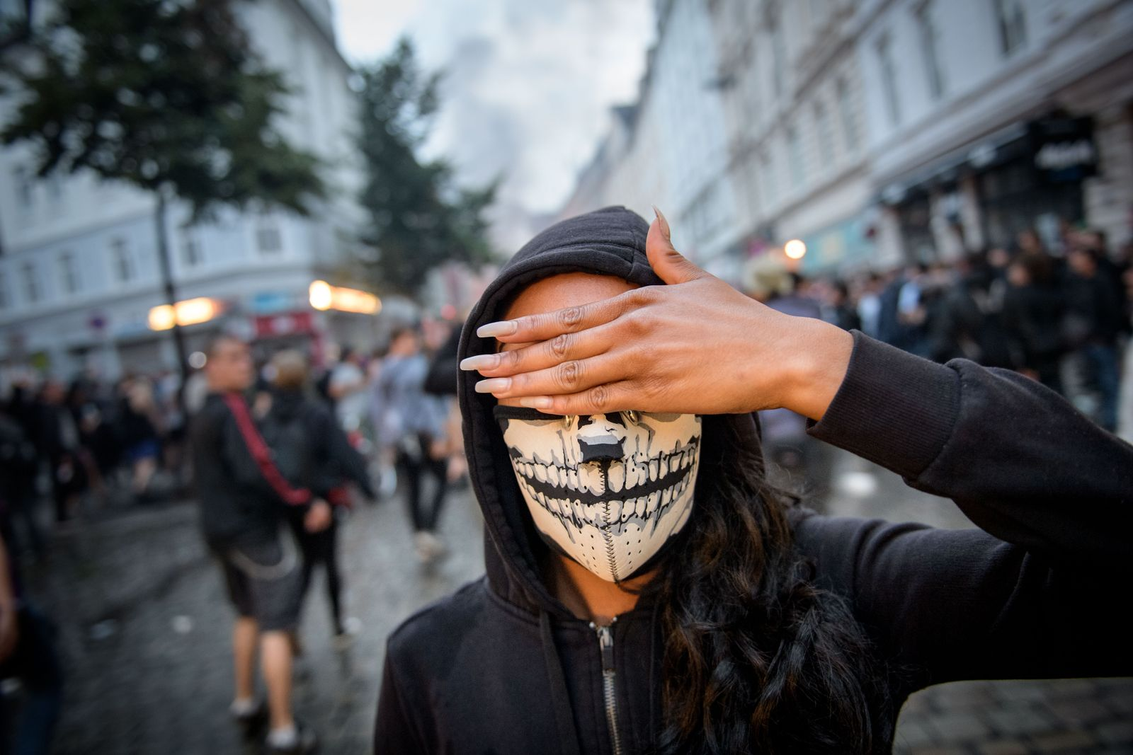 G20/ Schwarzer Block/ Maske