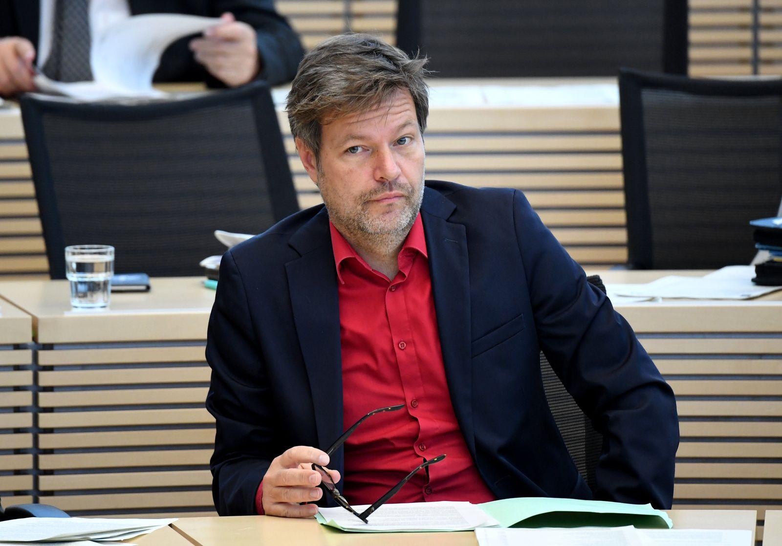Habeck bei Landtagssitzung in Kiel