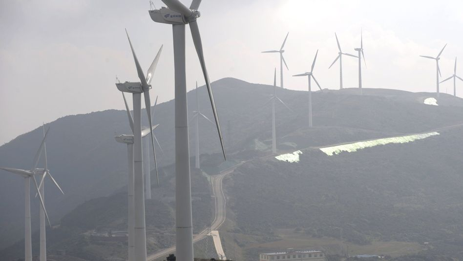 """Windräder in China: """"Toll, sie erkennen ebenfalls die riesigen Potentiale"""""""