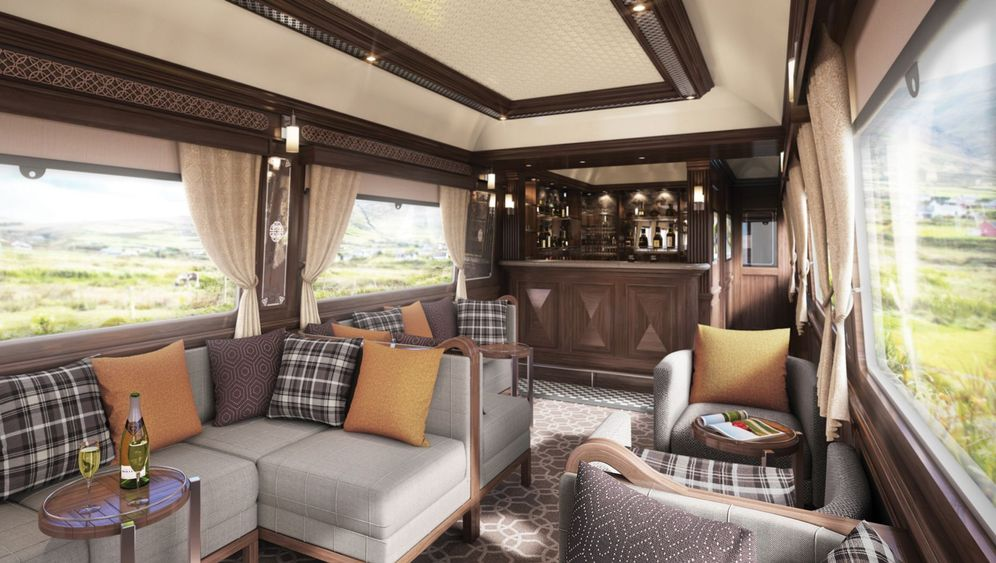 Irlands neuer Luxuszug: Schlössergucken auf der Schiene