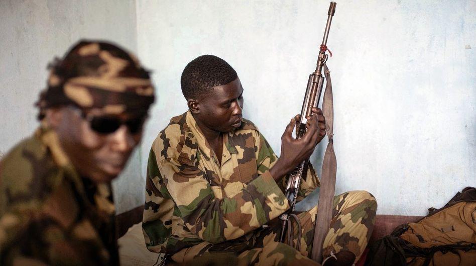 Islamistische Kämpfer in der Zentralafrikanischen Republik