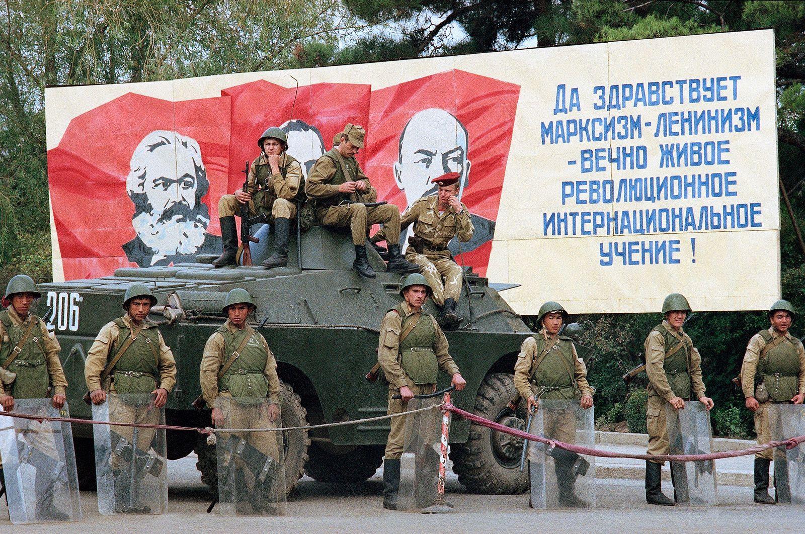 USSR Ethnic Unrest
