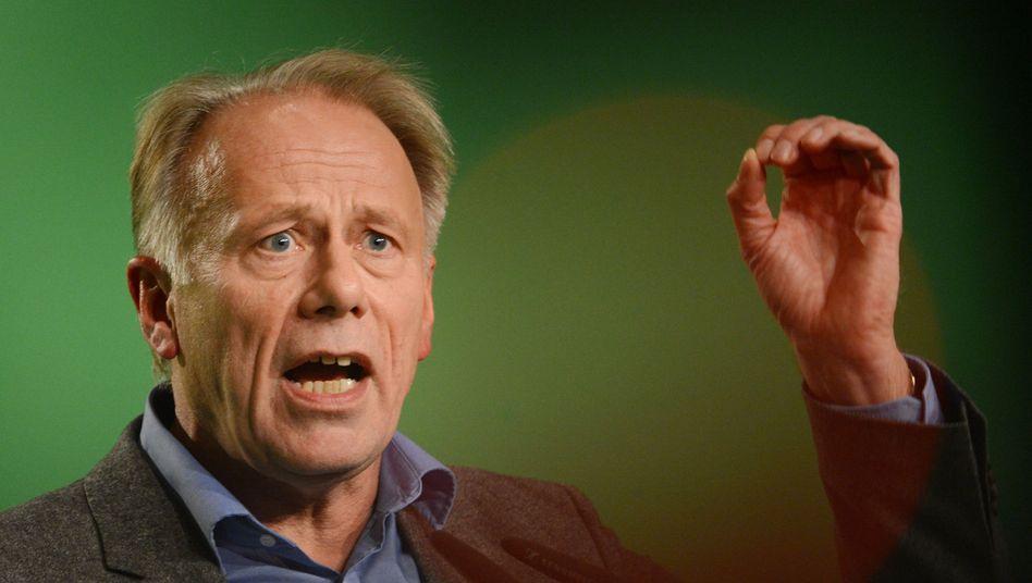"""Grünen-Fraktionschef Trittin: """"Das ist für mich nicht akzeptabel"""""""