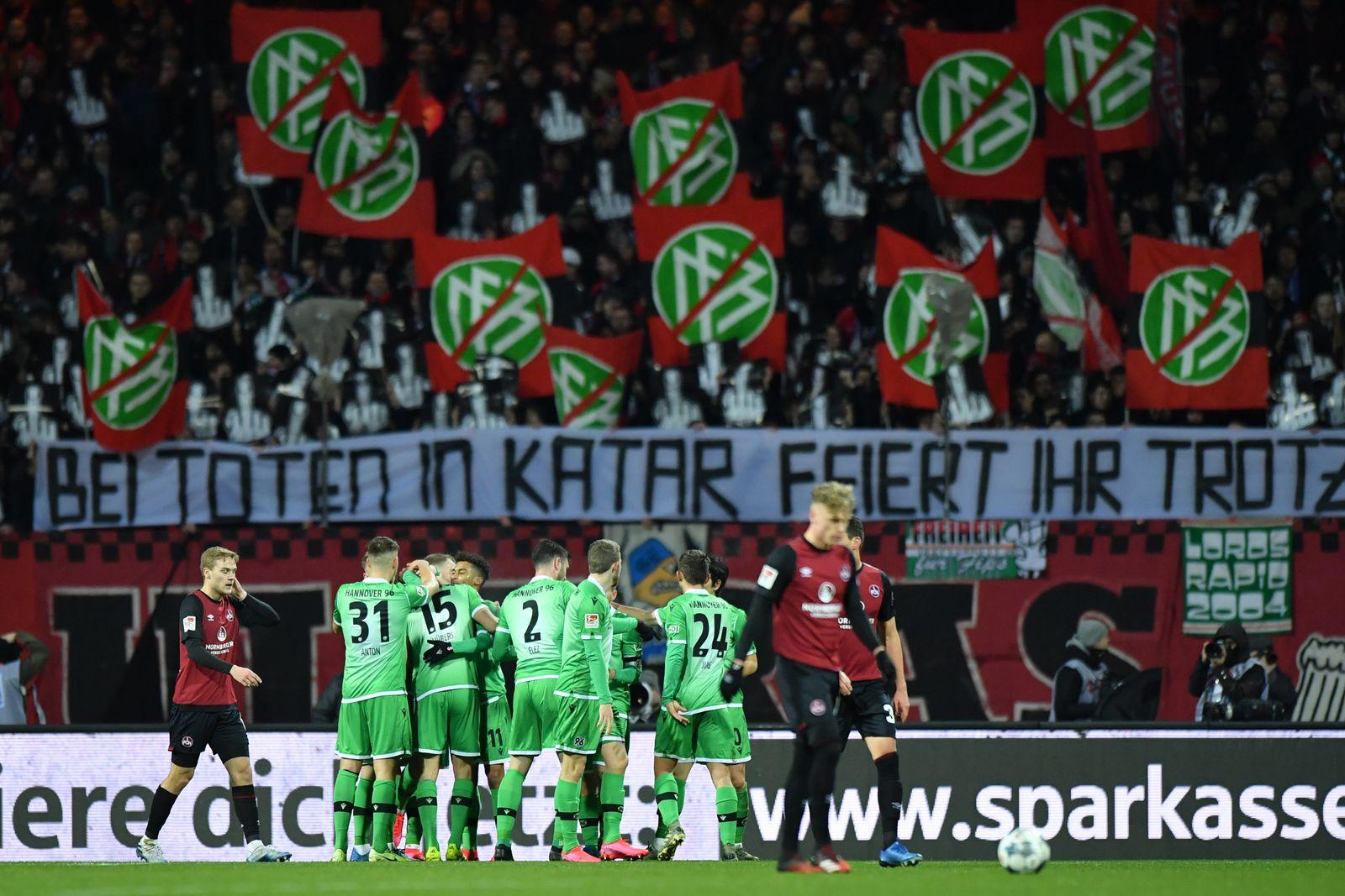 1. FC Nürnberg v Hannover 96 - Second Bundesliga