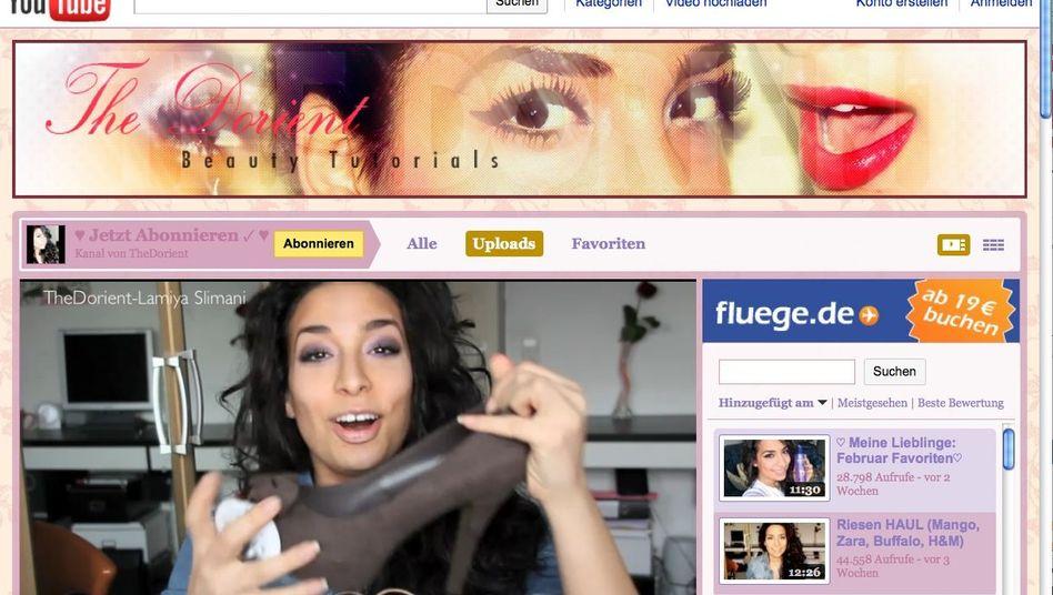 """Lamiya Slimani: Die Musikstudentin verkauft als """"The Dorient"""" Werbung"""