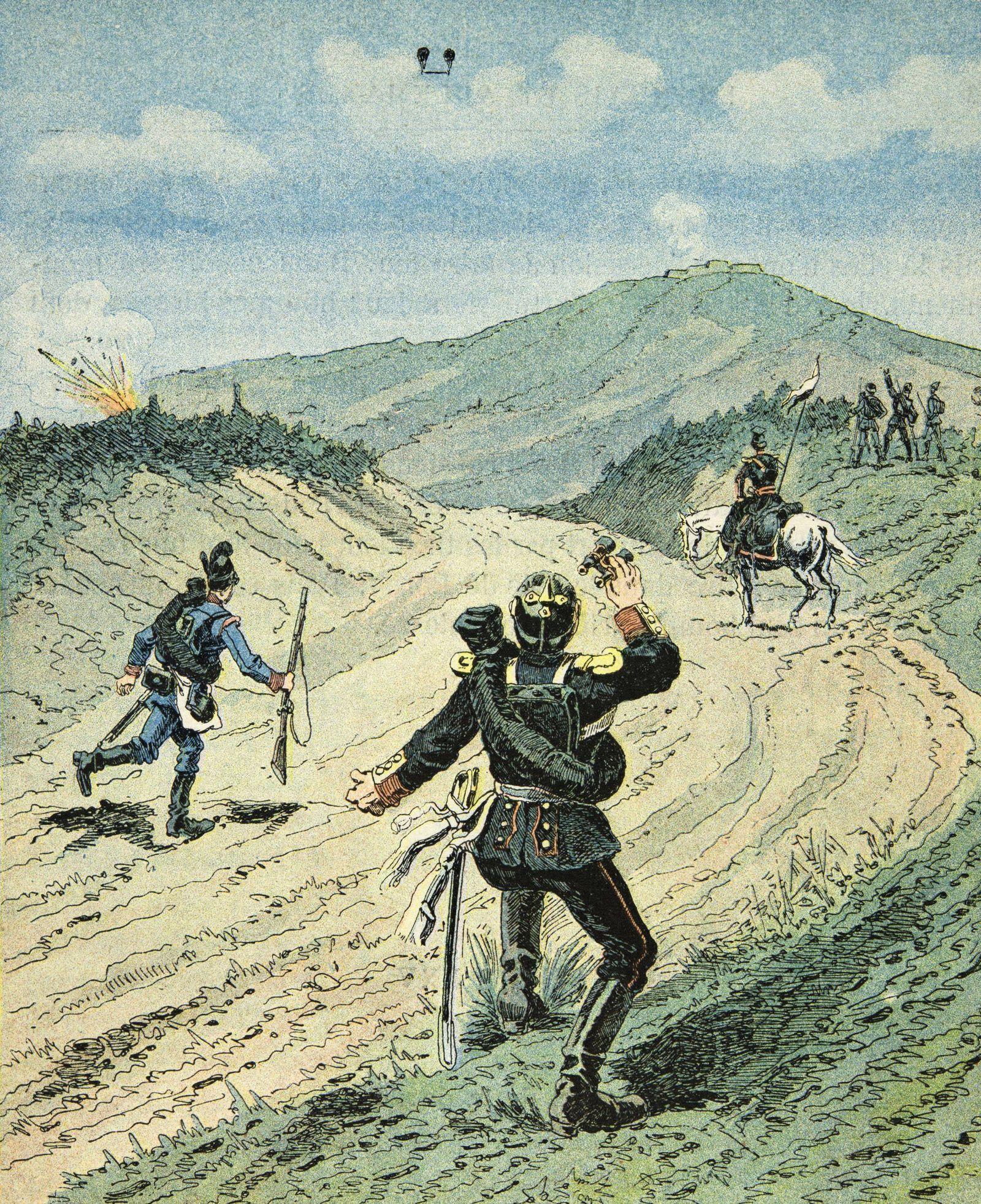 C19986 Hardouin Georges 1846 1893 dit aussi Dick de Lonlay Illustration tiree de l ouvrage
