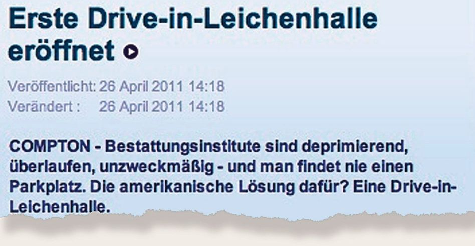 Aus der Internetseite dnews.de