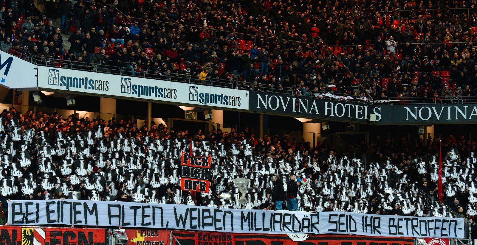 1. FC Nürnberg - Hannover 96
