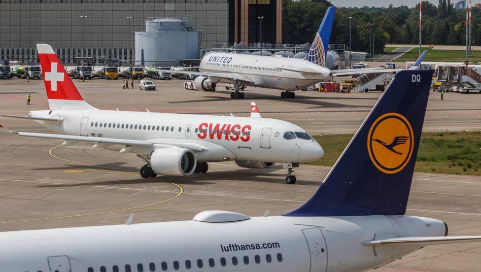 Lufthansa und Swiss fliegen zukünftig mit nachhaltigem Treibstoff nach Deutschland