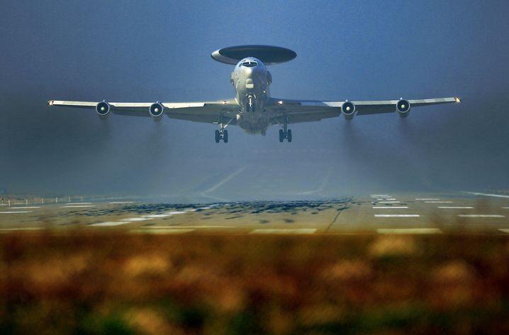 """""""Awacs""""-Flugzeug: Sollen bald verstärkt in der Türkei Daten sammeln"""