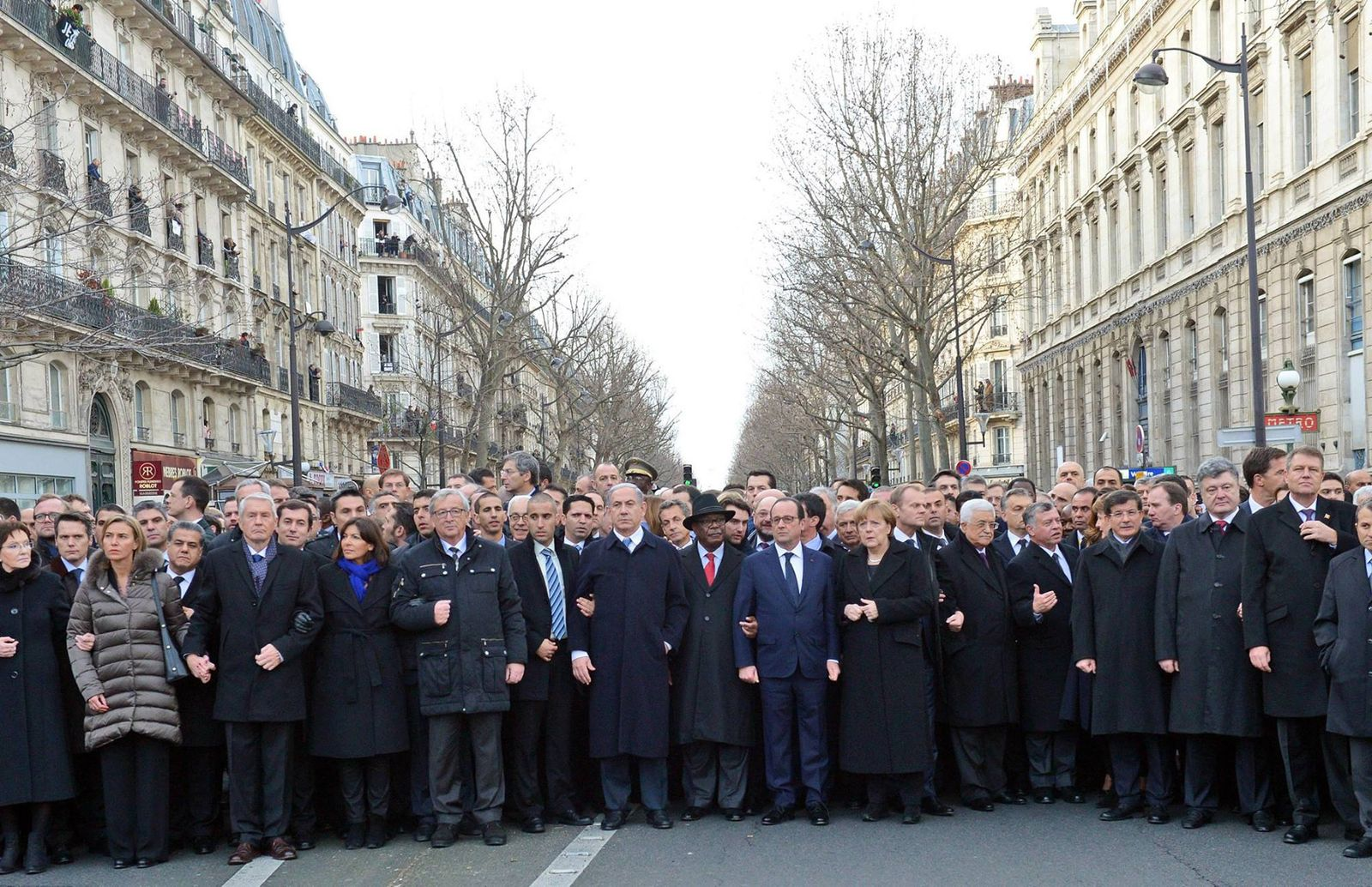 Paris/ Demonstration gegen Terror