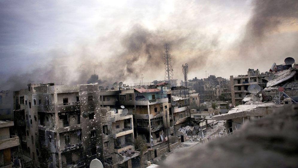 Photo Gallery: Syria Burns