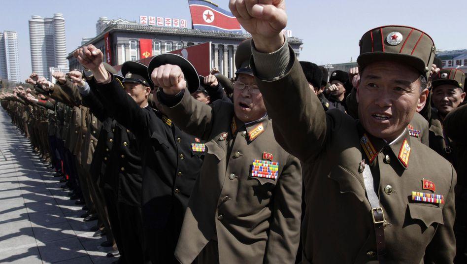 Militärparade in Pjöngjang: Wachsende Spannungen, Empfehlung zur Evakuierung