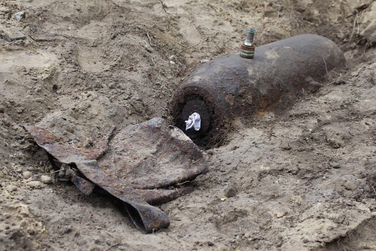 Weltkriegsbombe in Potsdam entschärft
