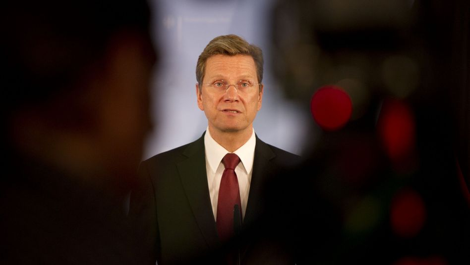 Foreign Minister Guido Westerwelle: Let the others take care of unpleasant things.