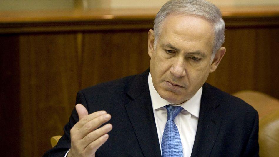 """Israels Premier Netanjahu: Soldaten mit """"außergewöhnlichem Mut""""?"""