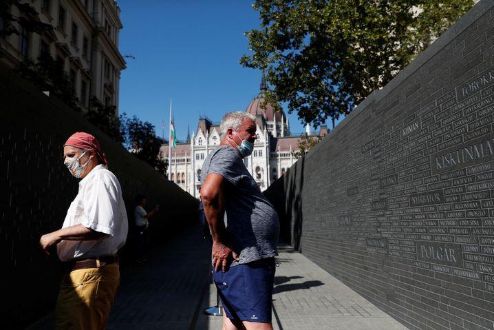 Ungarns neues Nationaldenkmal in Budapest