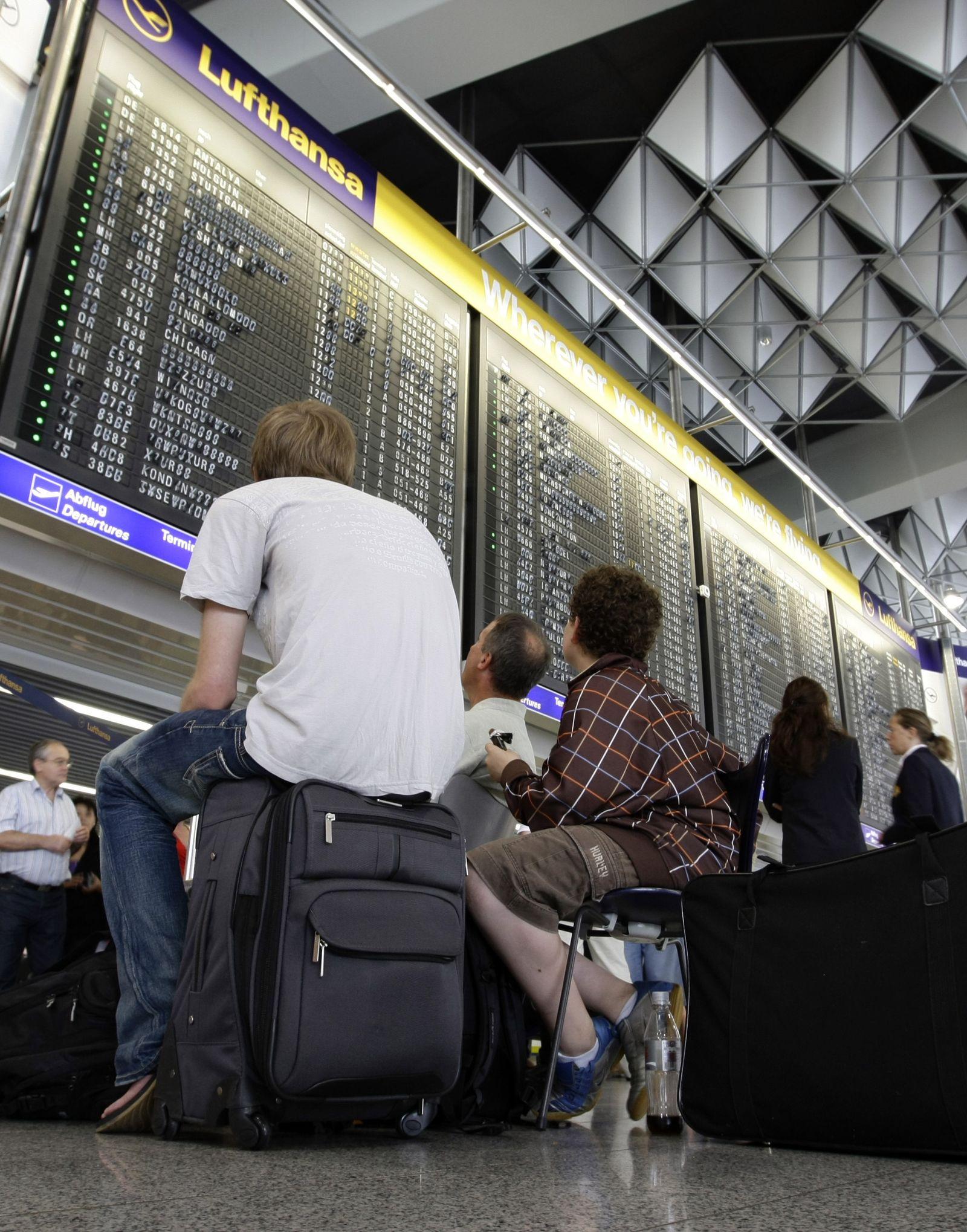 Flughafen / Lufthansa / Streik