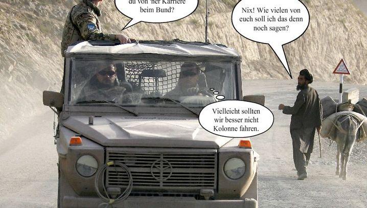 Bundeswehr in Not: Freiwillige vor