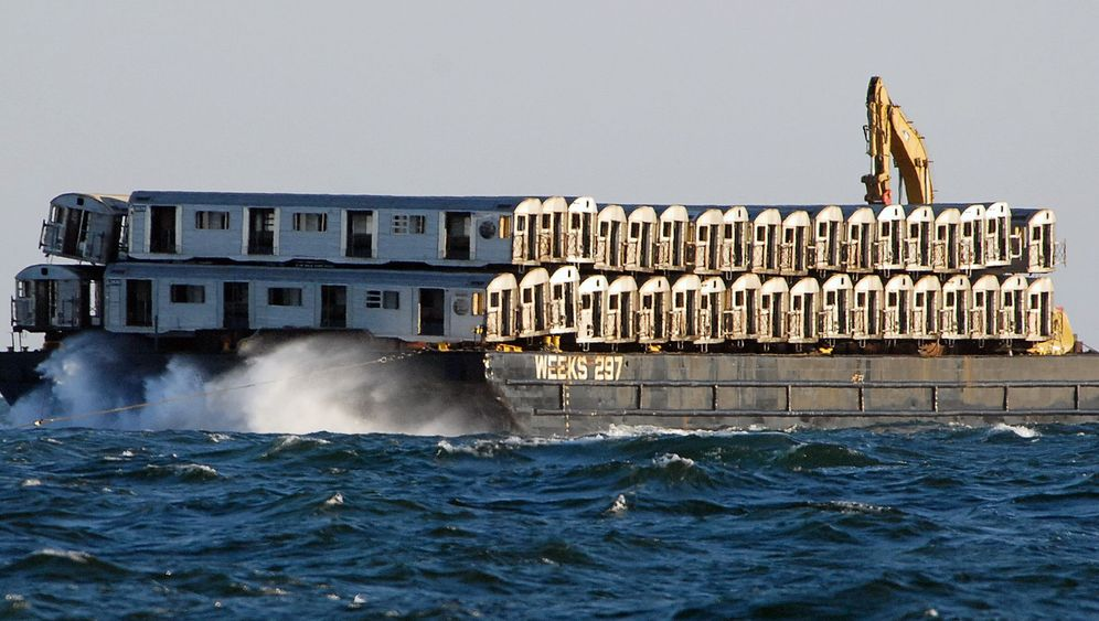 Luxus-Appartements: Fische bevölkern alte New Yorker U-Bahn