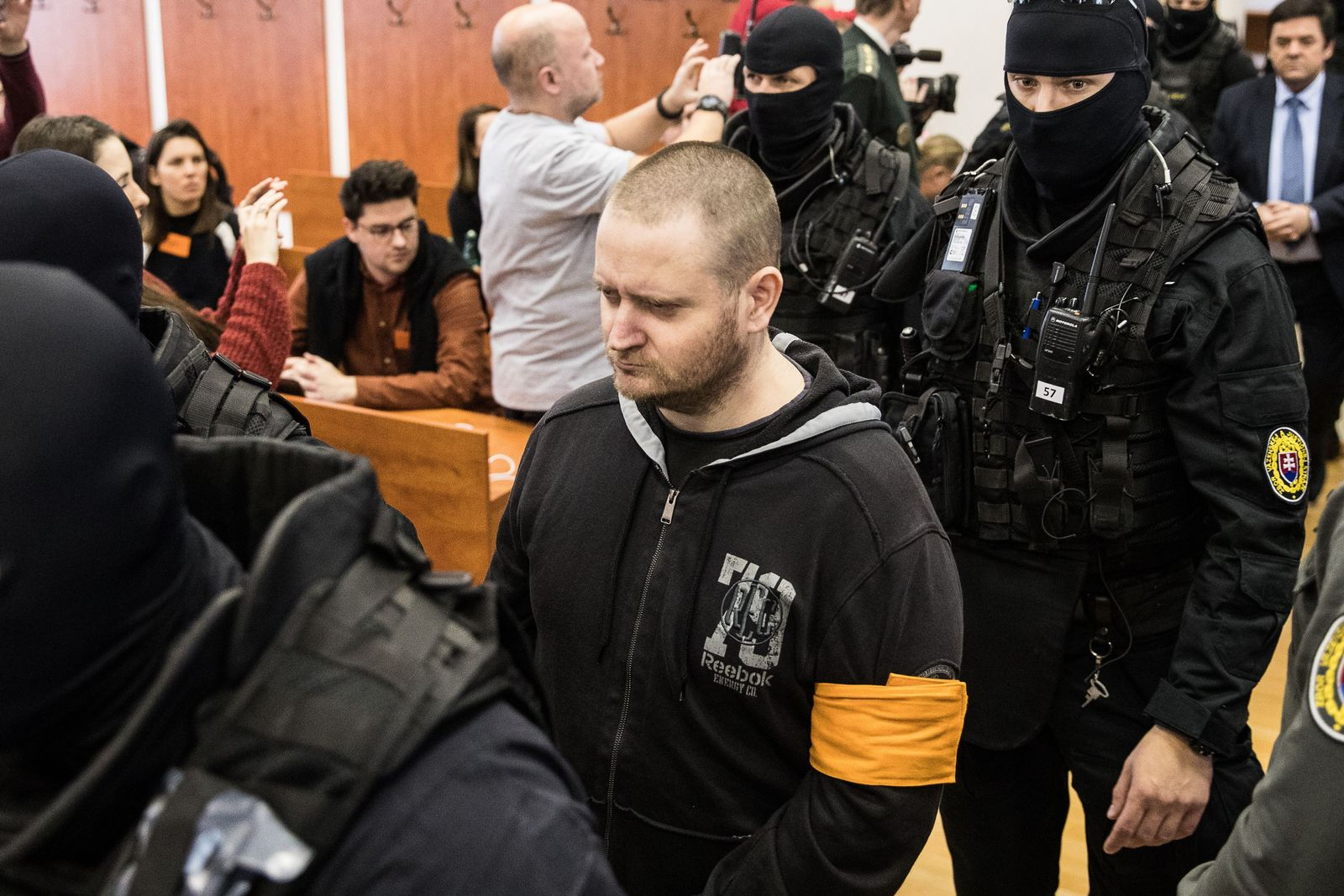 Trial concerning the murder of Slovak journalist Jan Kuciak, in Pezinok, Slovakia Slovak Republic - 13 Jan 2020