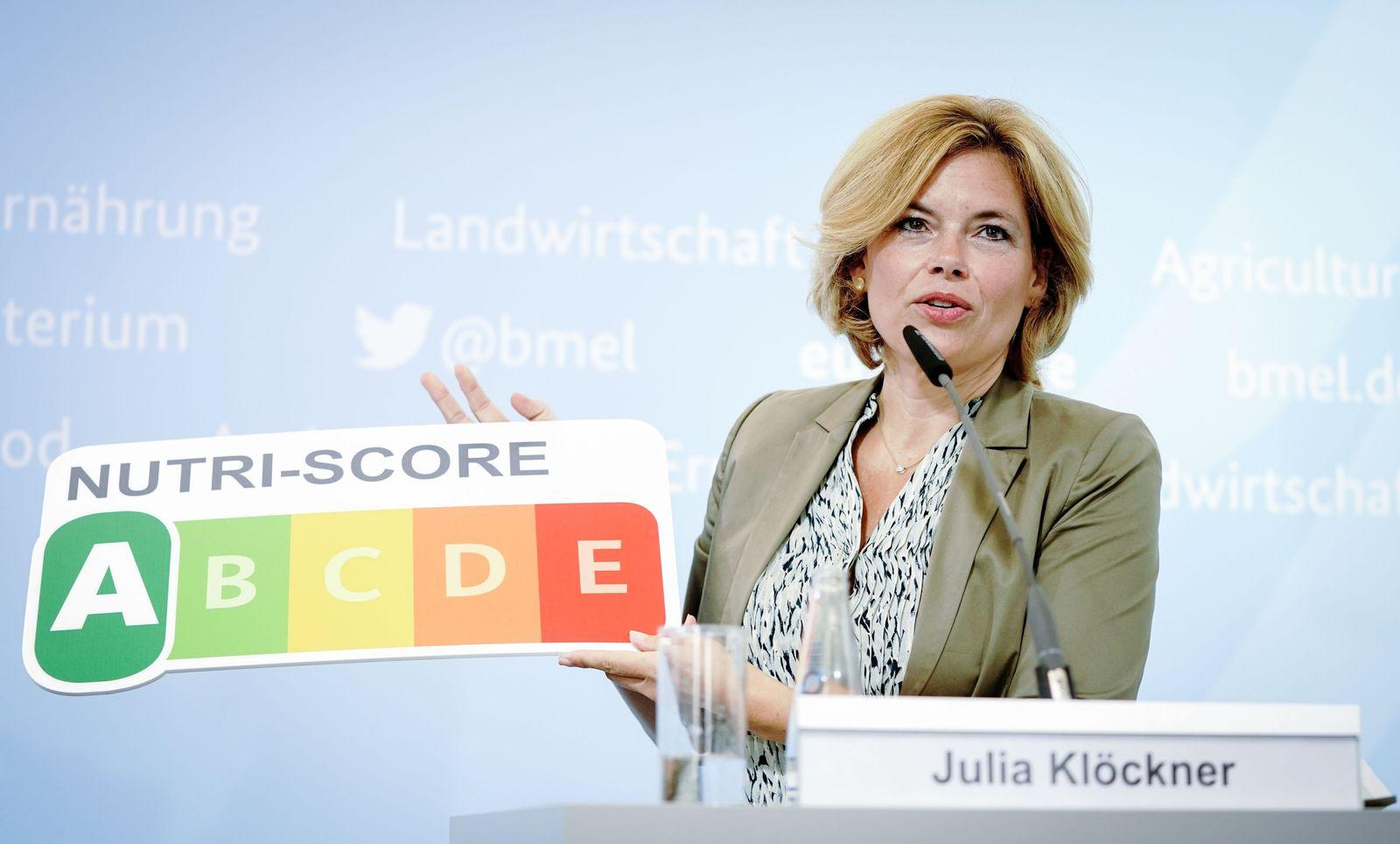 Pressekonferenz mit Landwirtschaftsministerin Klöckner