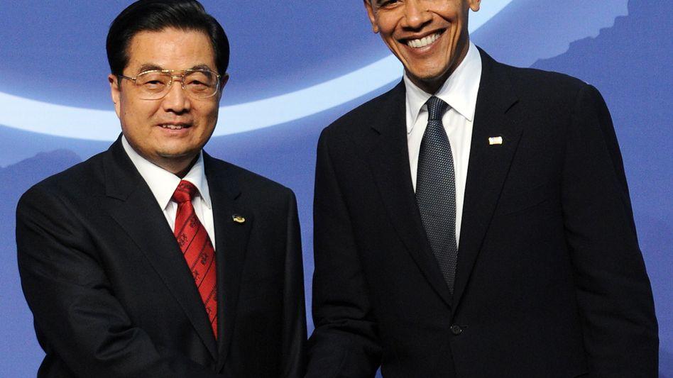 "Präsidenten Hu Jintao, Barack Obama: ""Gemeinsam an Sanktionen arbeiten"""