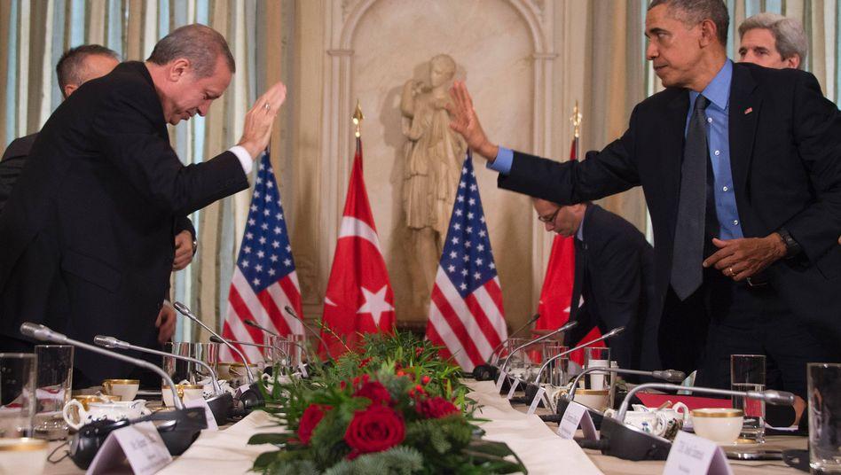 Erdogan und Obama bei einem Treffen im Dezember 2015