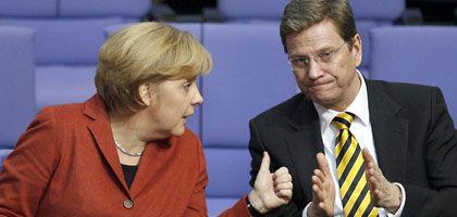 Merkel, Westerwelle: Wie viel passt zwischen Union und FDP?