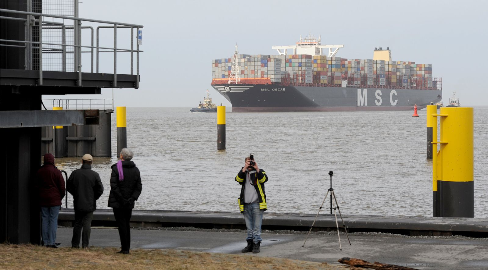 MSC Oscar / Bremerhaven
