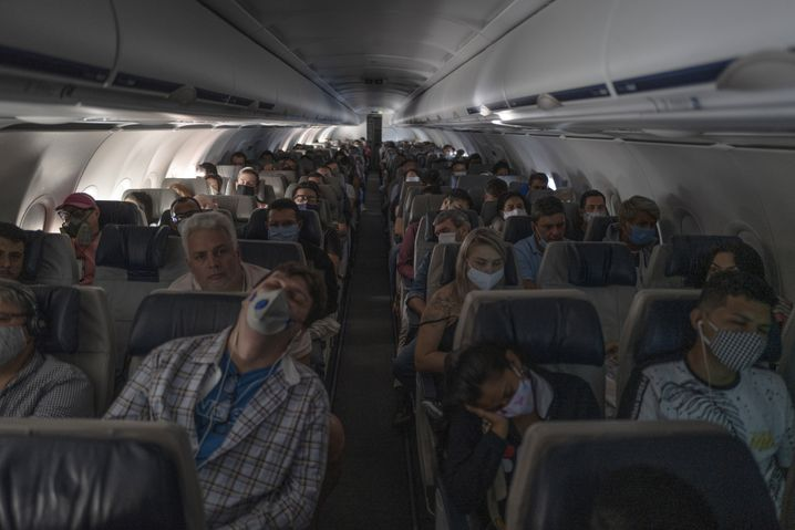 Inlandsflug in Brasilien von Manaus nach São Paulo am 30. Mai