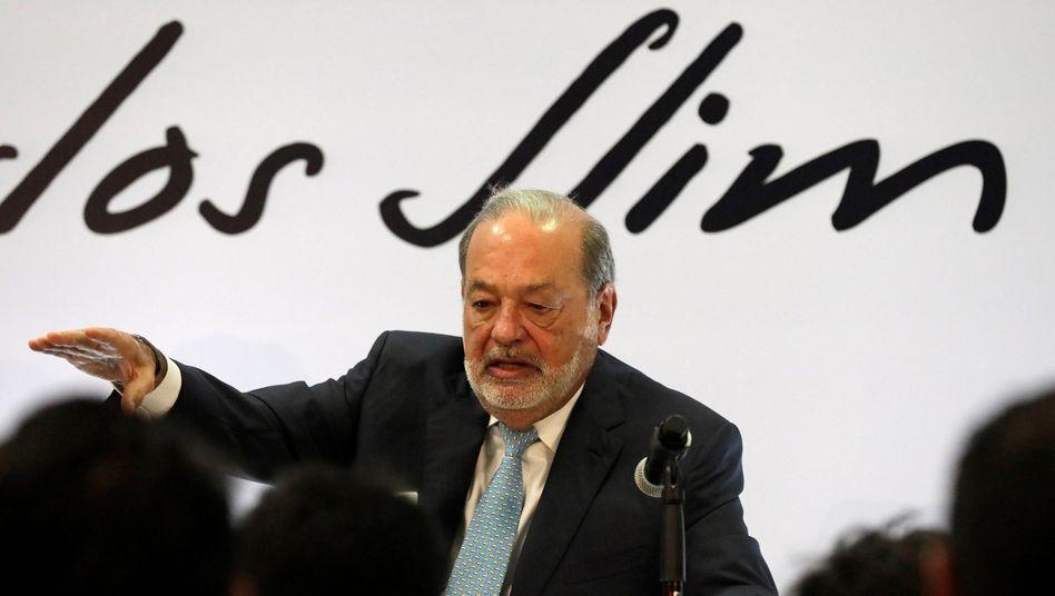 Milliardär Slim: Er hat mit allen Regierungen gute Geschäfte gemacht