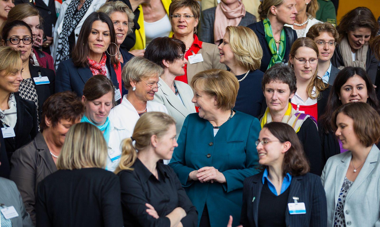 Frauengipfel / Merkel