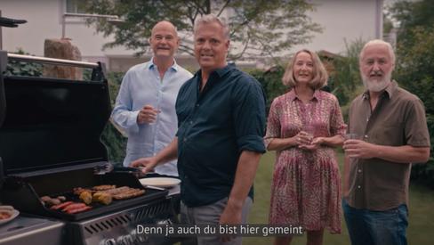 Grüne am Grill: Screenshot aus dem aktuellen Wahlwerbespot