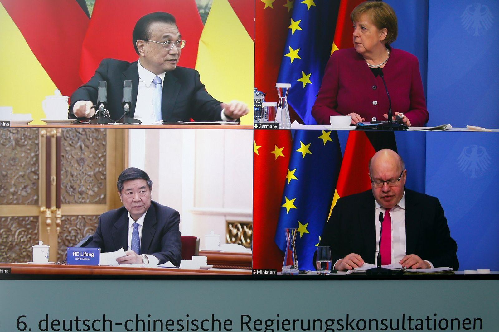deutsch-chinesische Regierungsgespräche