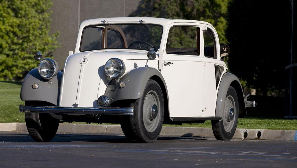 Mercedes Heckmotormodelle: Tuckern von hinten