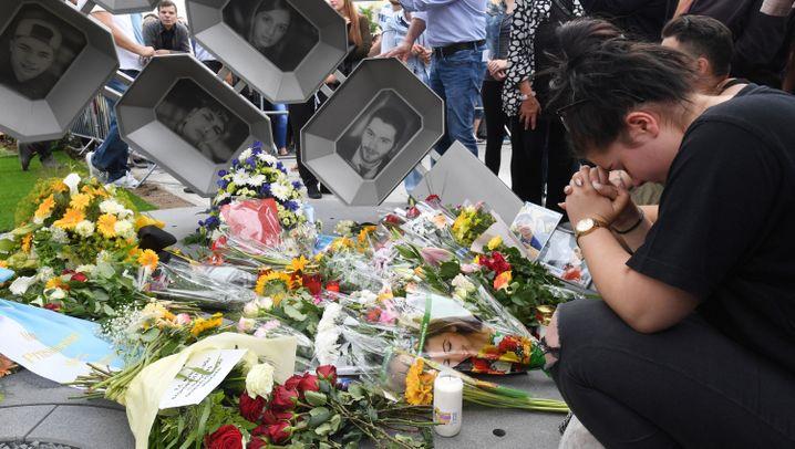 Jahrestag: Gedenken der Amokopfer in München