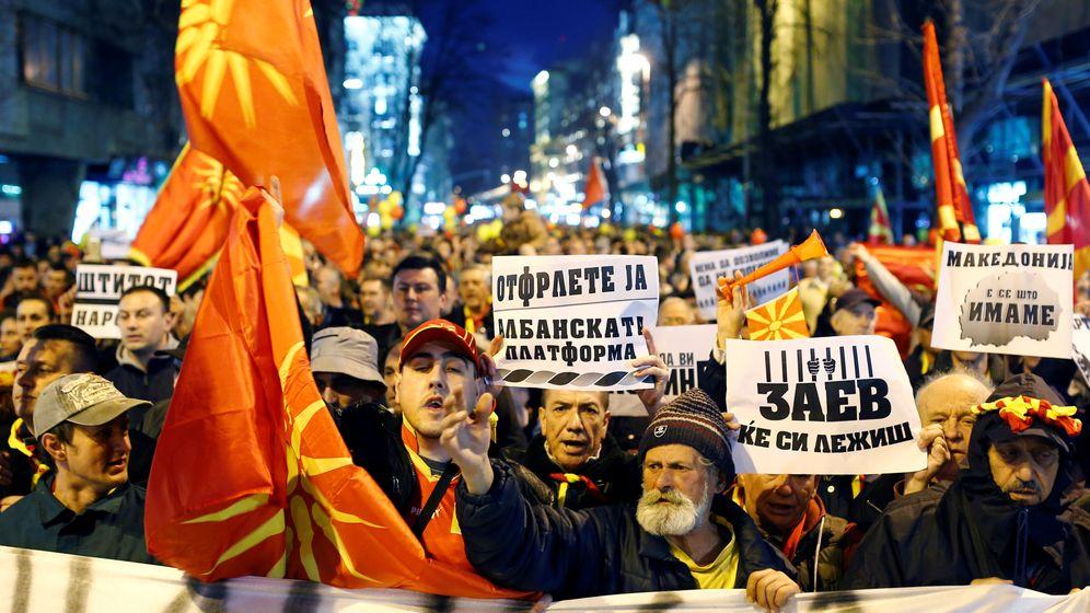 Instrument im Machtkampf: Mazedoniens Sprachenstreit