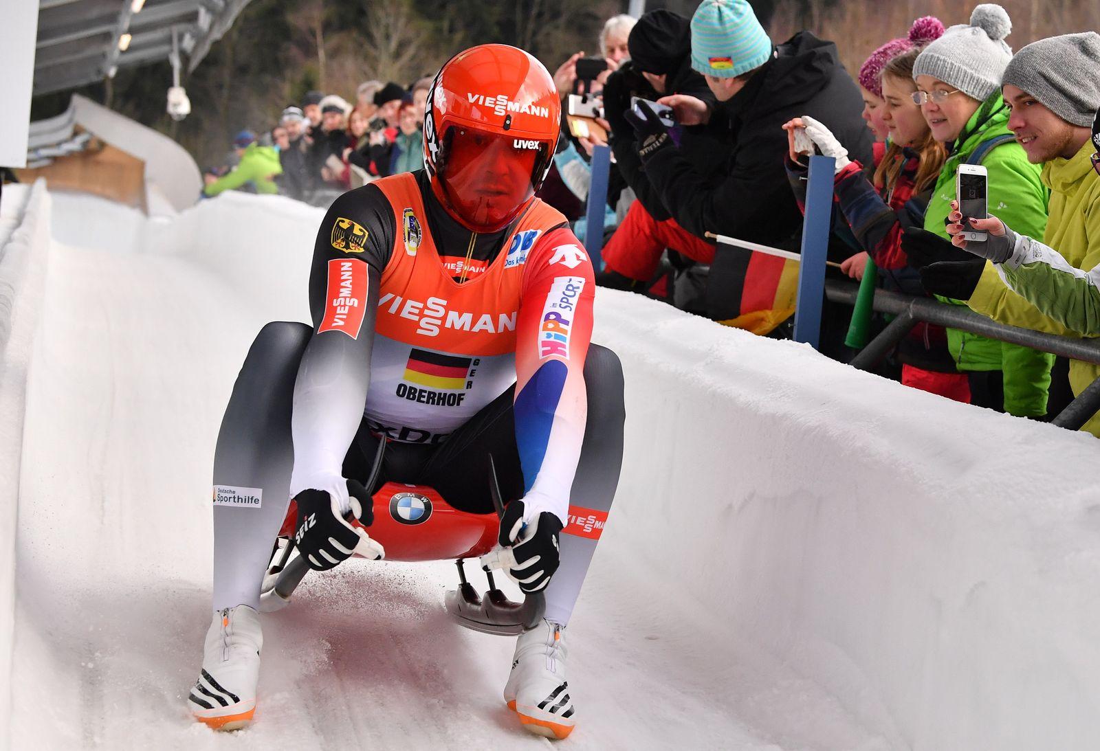 Rodeln Weltcup in Oberhof
