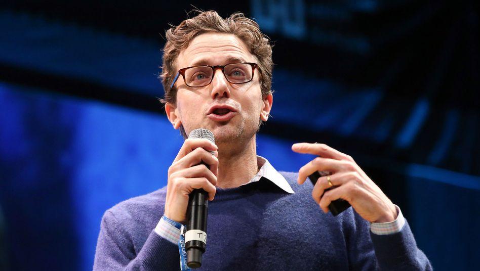 """""""Buzzfeed""""-Gründer Jonah Peretti (Archivbild): Längst einer der bekanntesten Medienmacher"""
