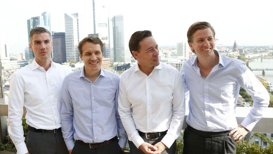 Rocket-Internet-Manager Bruder, Samwer, Kimpel, Kudlich: Zocken macht Spaß